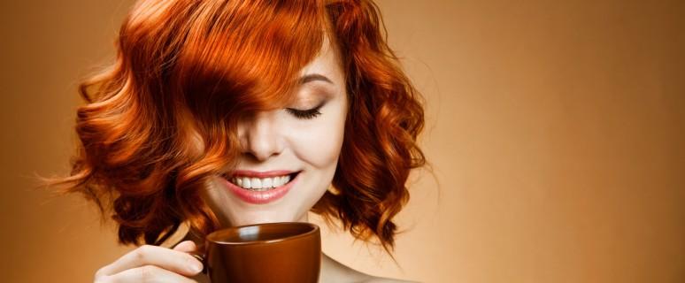 окрашивание волос хной с кофе
