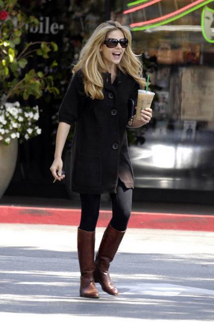 Sarah Michelle Geller coffee