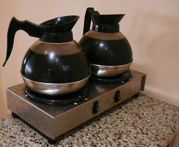 Фильтр кофе на подогреве