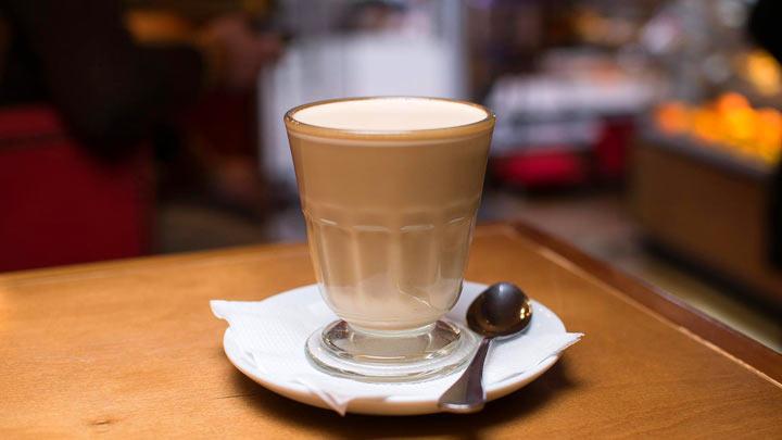 пошаговый рецепт раф-кофе
