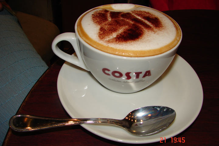 cappuccino Costa Coffee