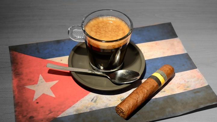 кофе с сигарой по-кубински
