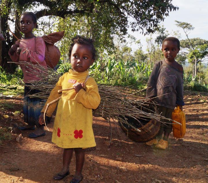 эфиопские дети