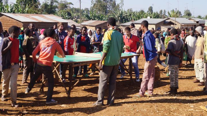 настольный теннис в Эфиопии