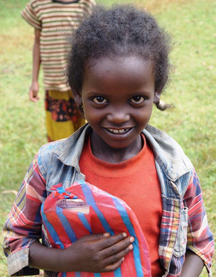 эфиопская школьница